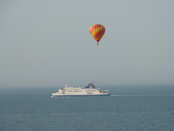 Balloon and Ferry