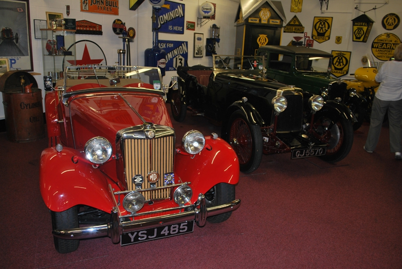 Some of the classic car collection