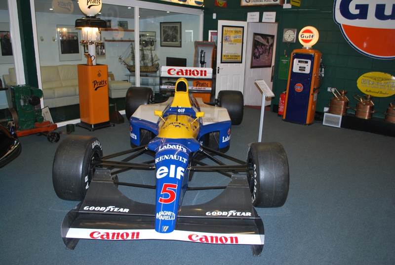 A Williams Renault from the Mansell era