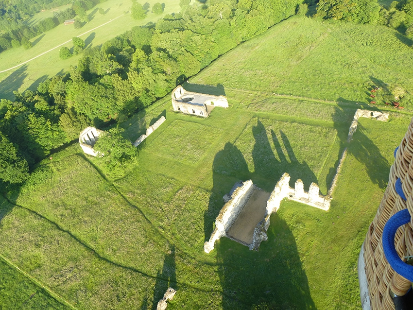Thanks to Kris Wilkes for this aerial view of Waverly Abbey