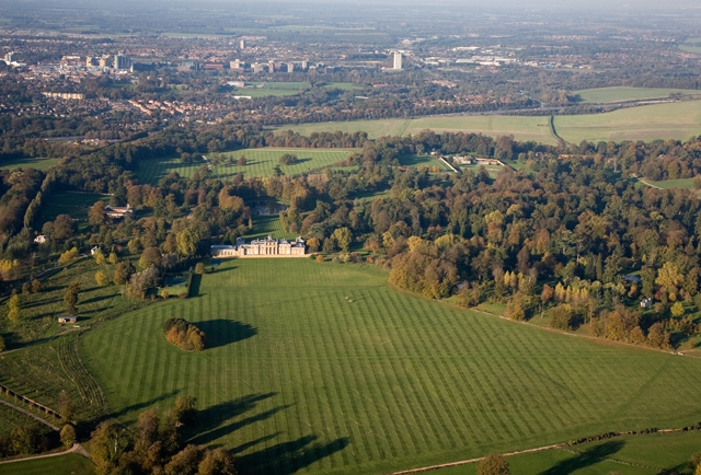 Hackwood House & Basingstoke