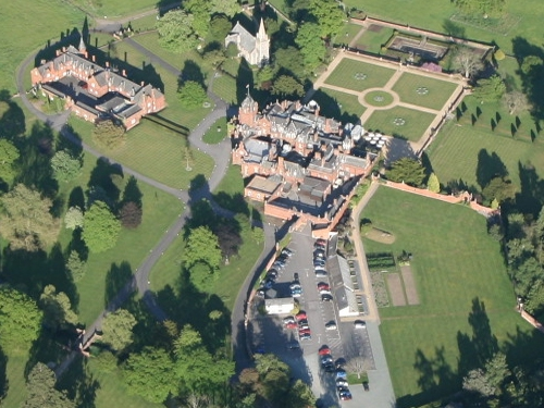Elvetham Hall - popular local hotel and dining venue