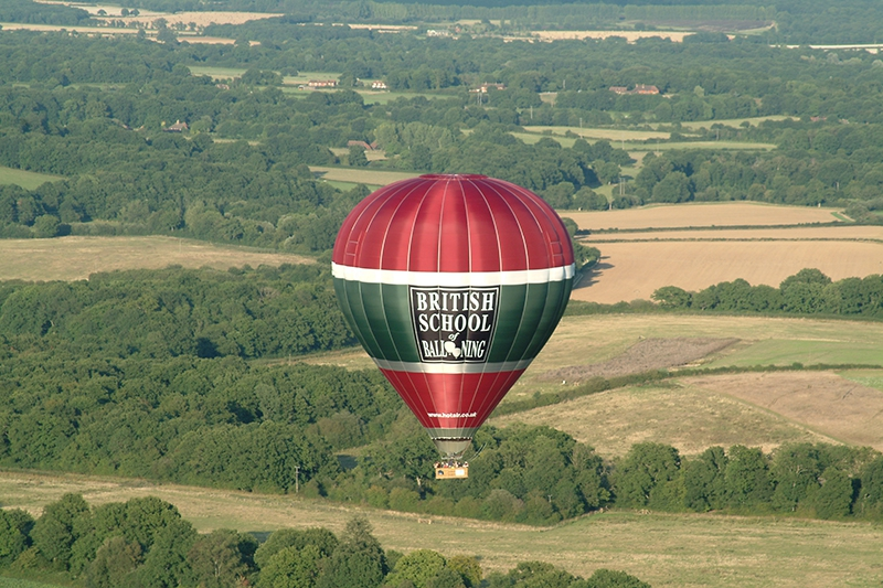 Our West Sussex balloon rides start close to Petworth, in the South Downs National Park and less than 15 miles from Chichester and the South Coast so providing you with a wonderful view on a clear day and beautiful countryside to view as you glide through the air.