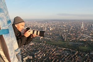 Take great aerial pictures on London Balloon flights