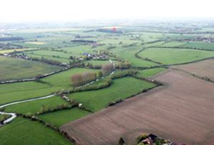 Balloon flights over the Aylesbury Plain provide great aerial views