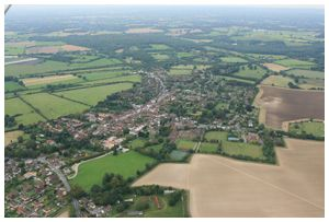 Hot air balloon flights over Odiham