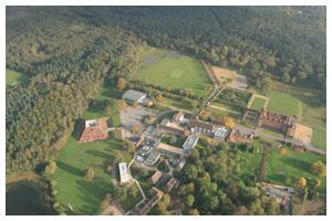 Bramshill Police College ariel view.