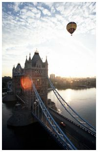 Air Balloon near Tower Bridge
