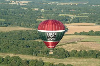 Our British School of Ballooning 16 passenger Balloon