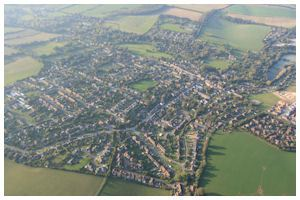 Balloon Flights South Hampshire - Go Ballooning in Hampshire withoverton village