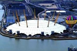 Hot Air Balloon Flight over the O2 Arena