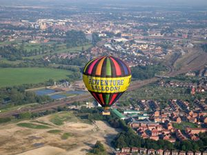 Balloon Flight over the River Ouse and York city centre